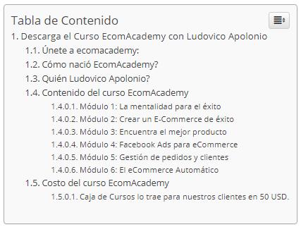 Curso EcomAcademy - Ludovico Apolonio