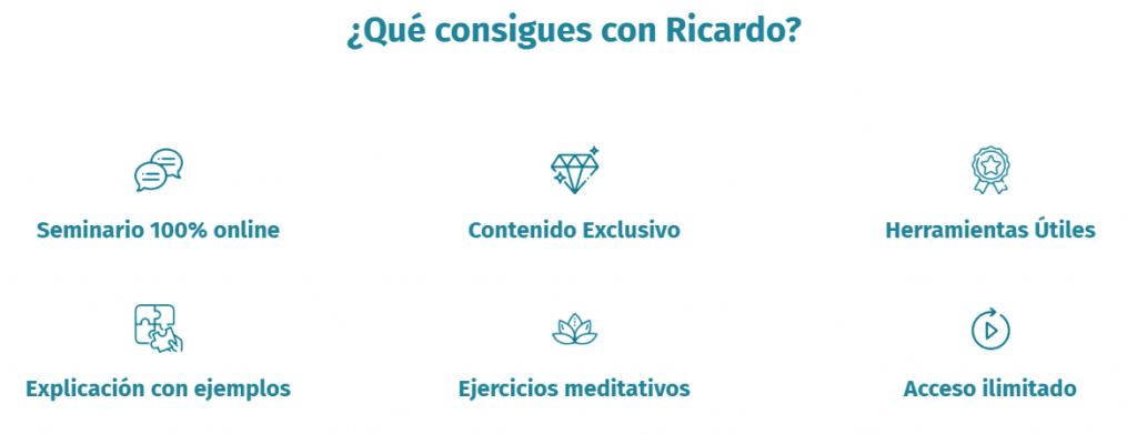 Curso Seminario Ser maestro de tus Pensamientos y Emociones - Ricardo Perret